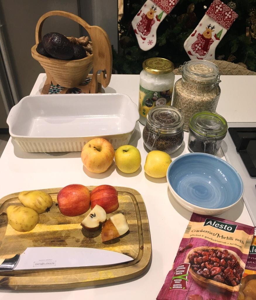 breakfast crumble ingredients